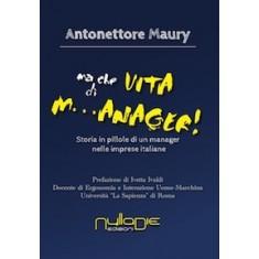 Antonettore Maury - Ma che vita da m...anager! Storia in pillole di un manager nelle imprese italiane